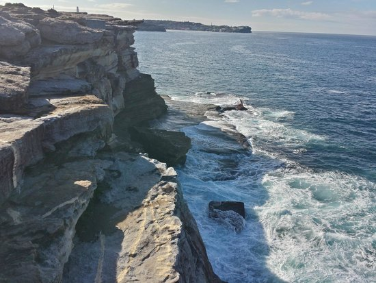 Bondi to Coogee Beach Coastal Walk : Big and beautiful cliffs all the way
