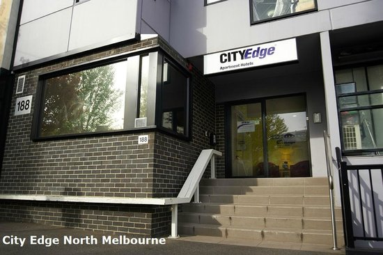 City edge north melbourne reception picture of city for Appart hotel melbourne