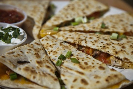 Nate's Cowboy Cafe: Country Quesadilla