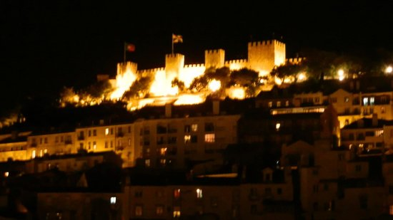 St George Castle - as seen from Hotel Santa Justa
