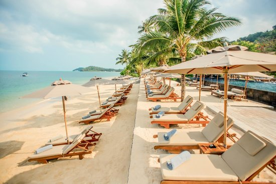 Taling Ngam, Tailandia: Private Beach