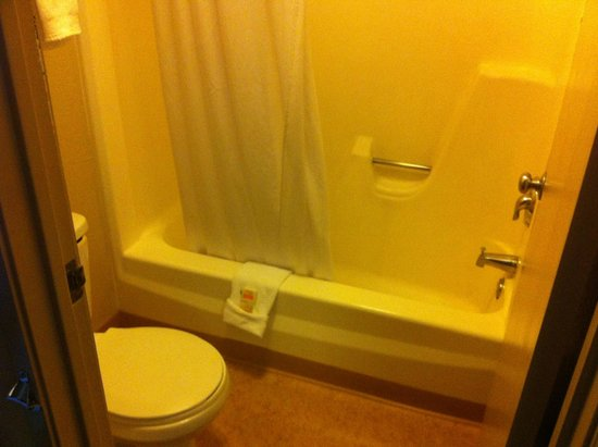 Days Inn by Wyndham Las Vegas Wild Wild West Gambling Hall: Athroom
