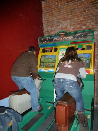 Dorky's Arcade: better than bowling! ;)