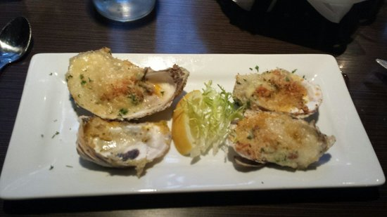 McKelvie's Delishes Fishes Dishes : Oyster rockerfeller for starters