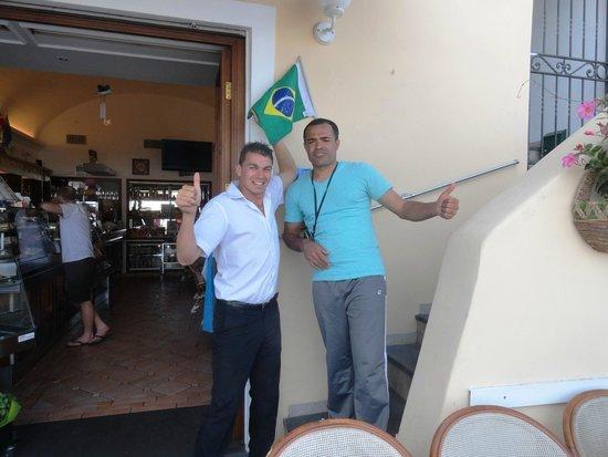 Bar Il Gabbiano : Carlos e Milton Souza(Brasil) 05.2014