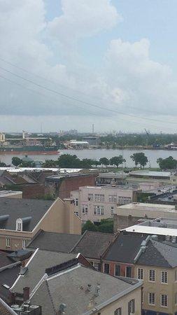 Hotel Monteleone: Mississippi River View