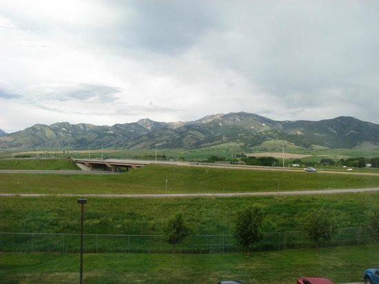 Residence Inn Bozeman: View from our hotel room