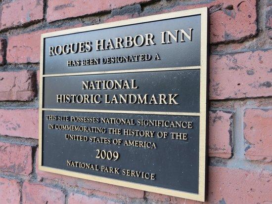 Rogues' Harbor Inn : Rogue Harbor landmark