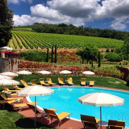 Hotel Villa Campomaggio Resort & Spa: Pool