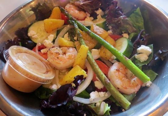 Gypsy Joynt: Jacques' Pride Salad, fresh and delicious