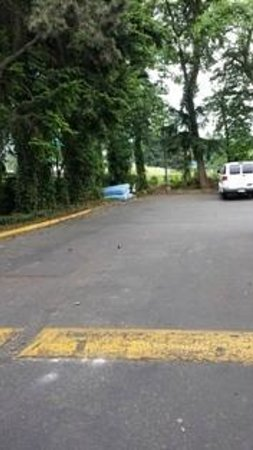 Days Inn Seattle South Tukwila: Parking area