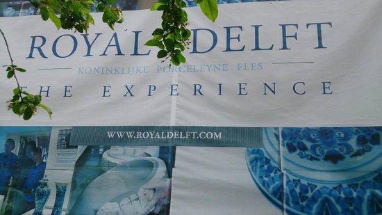 Royal Delft - Koninklijke Porceleyne Fles: The entrance