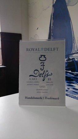 Royal Delft - Koninklijke Porceleyne Fles: The trademark