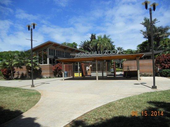 Honolulu Zoo : Zoo entrance
