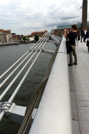 Millennium Bridge - stop and have a view