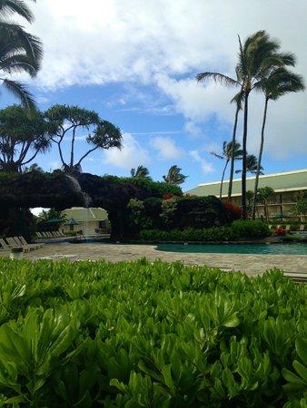 Kauai Beach Villas : Pool at the Kauai Beach Resort next door where you could use facilities.