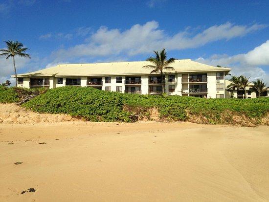 Kauai Beach Villas: View of an Oceanview Building