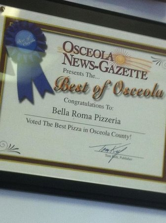 Bella Roma Pizza