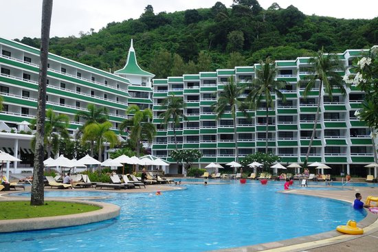 Le Meridien Phuket Beach Resort : Shallow pool