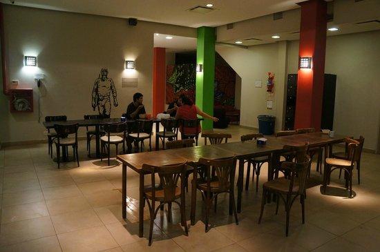 Milhouse Hostel Avenue: Место для общения постояльцев