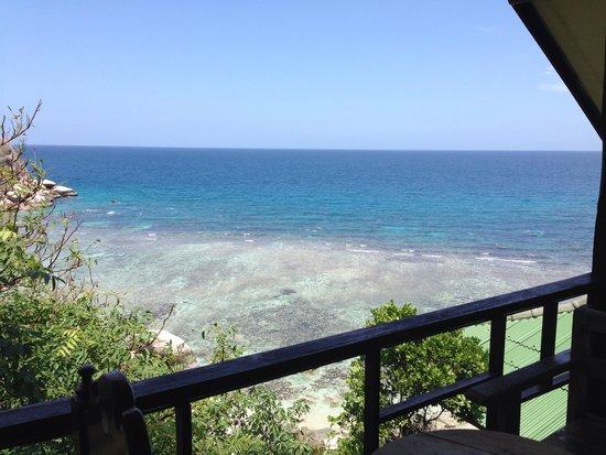 Taatoh Resort & Freedom Beach Resort: The view from the balcony