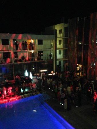 The Clarendon Hotel and Spa: View from the rooftop, Halloween 2013