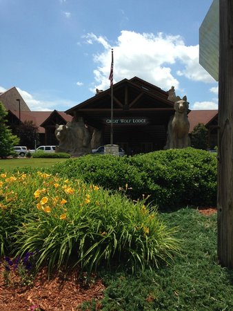 Great Wolf Lodge: Entrance