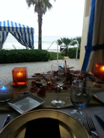 The Shores Resort & Spa : View from Private Dinner Table