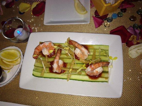 The Shores Resort & Spa: Delicious Shrimp Cocktail Appetizer
