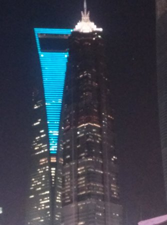 Pudong New Area: Never seen colour and light combination