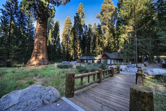 Sequoia and Kings Canyon National Park, Kalifornien: Le costruzioni in legno del parco