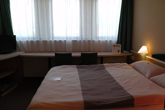 Ibis Innsbruck: A 4th flr room (forgot #)
