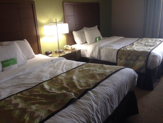 La Quinta Inn Austin North : Two queen size beds that were decently comfortable