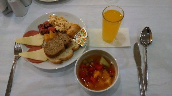 Grand Hotel Halic: Desayuno