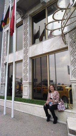 Grand Hotel Halic: Fachada