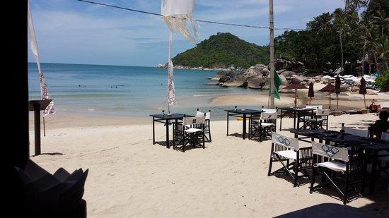 Buri Rasa Koh Phangan : Beach View from restaurant