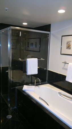 Sheraton on the Park, Sydney: Bath and shower separate