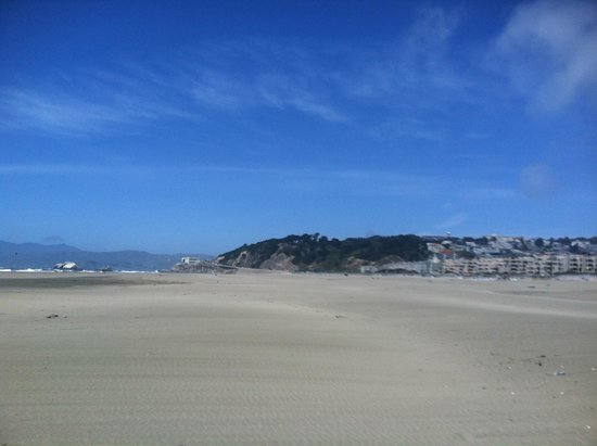 Ocean Beach: Looking north towards the Cliff House.