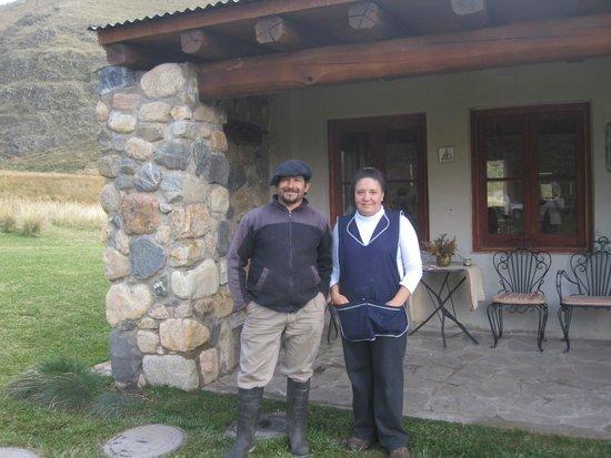 Estancia Rancho 'e Cuero: Pedro and Roxana