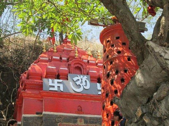 Dewas, Ινδία: chamunda temple