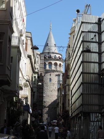Grand Hotel Halic: Torre de Gálata