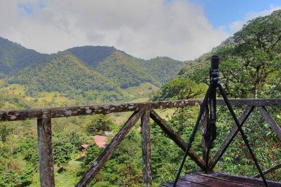 El Silencio Lodge & Spa : View from cloud forest hike
