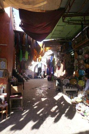 Riad Andalla : Les Souks