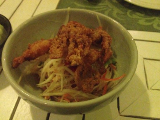 Suay Restaurant: Soft Shell Crab Salad