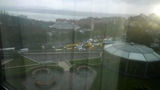 InterContinental Istanbul: View from Room