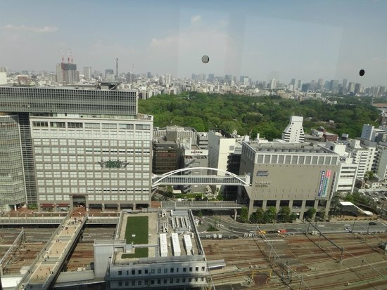 Hotel Century Southern Tower: View from room- the Takashiyama and Tokyu hands complex.