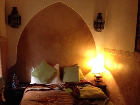 Riad Sidi Mimoune : bedroom on ground floor