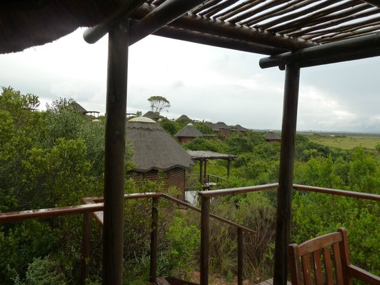 Garden Route Game Lodge: room view