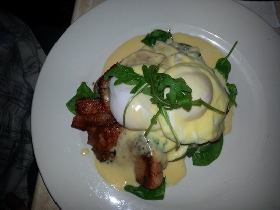 Cafe swish: Eggs Benedict