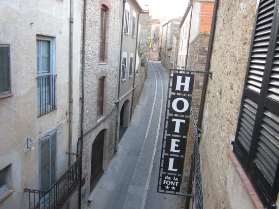 Hotel de La Font : Hotel street view